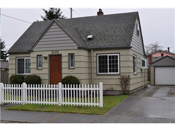 Renovation in North Tacoma